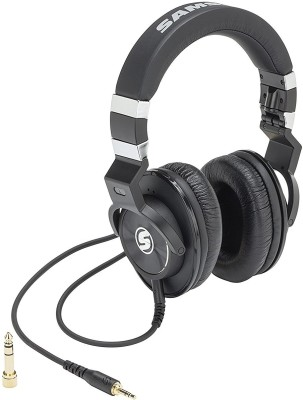Samson Z45 Wired Headset without Mic(Black, Wireless over the head)