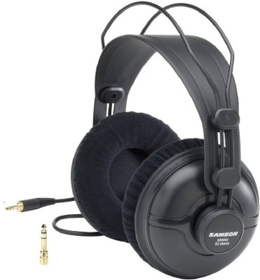 Samson 950 Wired Headset without Mic(Black, Wireless over the head)
