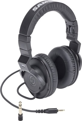Samson Z25 Wired Headset without Mic(Black, Wireless over the head)