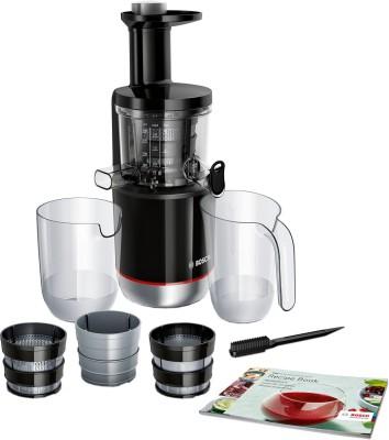 BOSCH Lifestyle Slow Juicer MESM731M 150 W Juicer (2 Jars, Black)