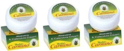 Carmino Aloevera & Calendula Cream 50 gms Each [Pack of 3] [50g X3 ,150g ](150 g)