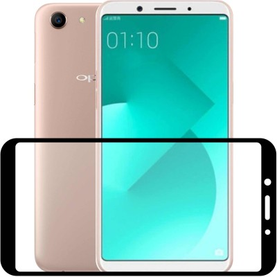 Case Creation Tempered Glass Guard for Oppo A79(Pack of 1)
