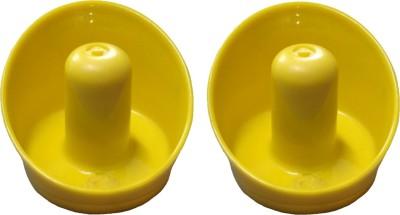 KBA Yellow Air Hockey Pushers(Pack of  2)