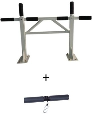 54 Off On Magic Home Gym Multigrip Pull Up Bar With Arm Curl Bar