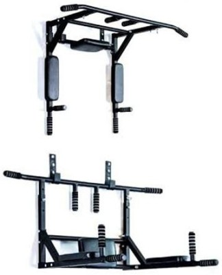 255f4e91dec 51% OFF on Magic Home Gym Pull up bar parallel bar -wall removable model  Pull-up Bar(Black) on Flipkart