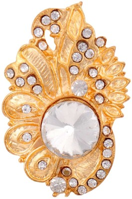 8a4d22bee 58% OFF on Amber Shine Designer Saree Pin Brooch for women Brooch(Gold)