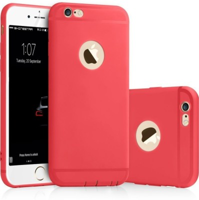 Enflamo Back Cover for Apple iPhone 6 Red, Silicon