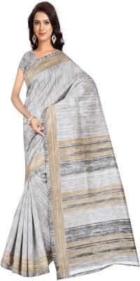 shelvinzasSolid Fashion Art Silk Saree Multicolor