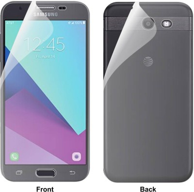 Case Creation Front and Back Screen Guard for Samsung Galaxy J3 (2017)(Pack of 2)