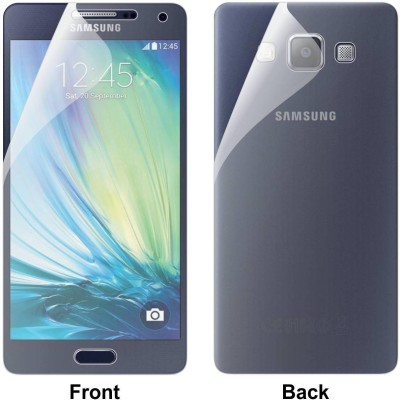 Case Creation Front and Back Screen Guard for Samsung Galaxy A7 (2015)(Pack of 2)