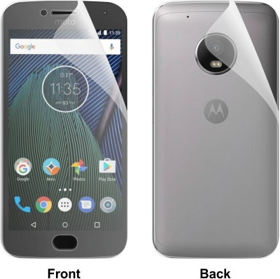 """Case Creation Front and Back Screen Guard for Motorola Moto G (5th Gen) 5.0\"""" inch(Pack of 2)"""