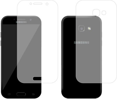 Case Creation Front and Back Screen Guard for Samsung Galaxy A3 (2017)(Pack of 2)