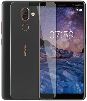DSCASE Tempered Glass Guard for Nokia 7 Plus(Pack of 1)