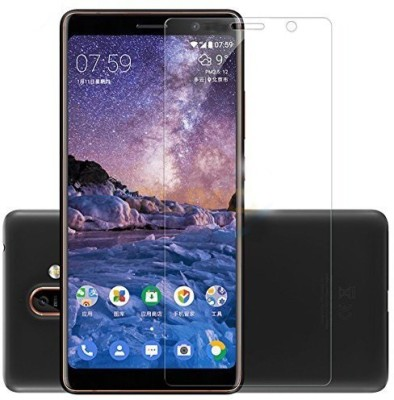 NKCASE Tempered Glass Guard for Nokia 7 Plus(Pack of 1)