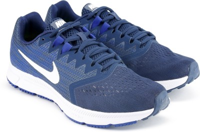 Nike NIKE ZOOM SPAN 2 Running Shoes For Men(Navy) 1