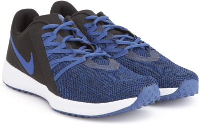 Nike NIKE VARSITY COMPETE TRAINER Trainer Shoes For Men(Black, Blue) 1