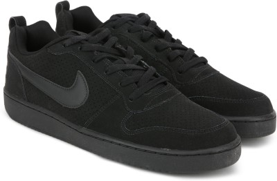 Nike COURT BOROUGH LOW Sneakers For Men(Black) 1