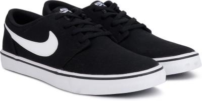 Nike NIKE SB PORTMORE II SOLAR CNVS Sneakers For Men(Black) 1