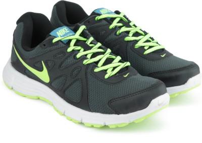 Nike REVOLUTION 2 Running Shoes For Men(Green) 1