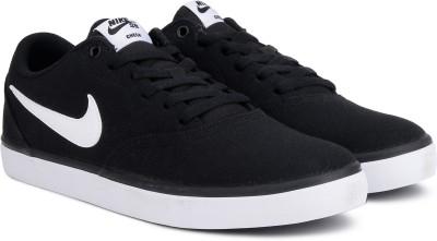Nike NIKE SB CHECK SOLAR CNVS Sneakers For Men(Black) 1