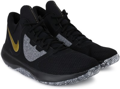 Nike NIKE AIR PRECISION II Basketball Shoes For Men(Black) 1
