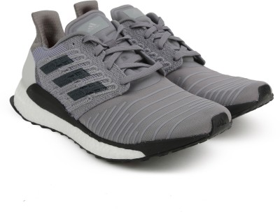 601ad9b706051 Buy ADIDAS SOLAR BOOST M Running Shoes For Men(Grey) on Flipkart ...