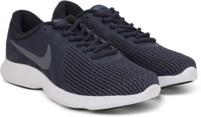 Nike NIKE REVOLUTION 4 Running Shoes For Men(Blue) 1