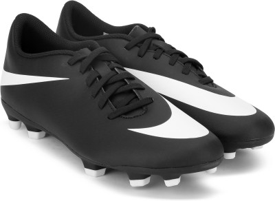 Nike NIKE BRAVATA II FG Football Shoes For Men(Black, White)