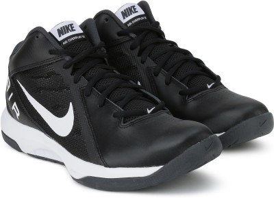 Nike THE AIR OVERPLAY IX Basketball Shoes For Men(Black) 1