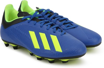 save off 9a627 2339a ADIDAS X 18.4 FG Football Shoes For Men(Blue)