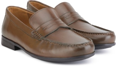 Clarks CLAUDE LANE BROWN LEATHER Formal shoes For Men(Brown) at flipkart