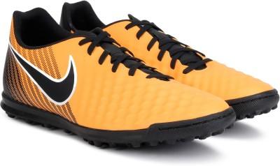 Nike MAGISTAX OLA II TF Football Shoes For Men(Orange) 1