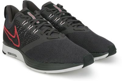 Nike NIKE ZOOM STRIKE Running Shoes For Men(Grey) 1