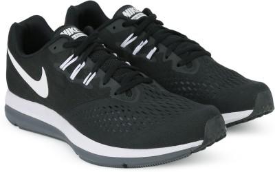 Nike ZOOM WINFLO 4 Running Shoes For Men(Black) 1