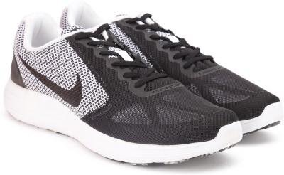Nike REVOLUTION 3 Running Shoes For Men(Black) 1