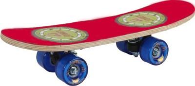 JJ Jonex WALLTAIL RED SKATE BOARD 6 inch x 10 inch Skateboard(Multicolor, Pack of 1)