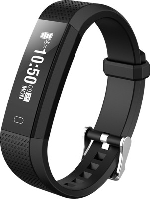 Riversong ACT Heart Rate Monitor Fitness Band(Black Strap, Size : Regular)