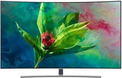 Samsung Q Series 138cm (55 inch) Ultra HD (4K) Curved QLED Smart TV(QA55Q8CNAKXXL / QA55Q8CNAKLXL)