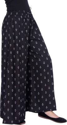 MOBIITO Flared Women Black Trousers