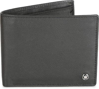 LOUIS PHILIPPE Men Black Genuine Leather Wallet 7 Card Slots LOUIS PHILIPPE Wallets
