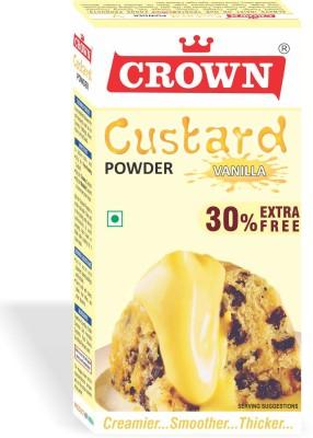 CROWN FOODS CUSTARD POWDER Custard Powder(130 g)