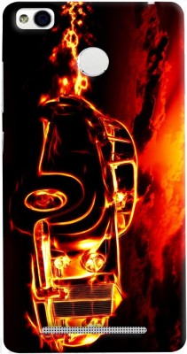 Mobikart Back Cover for MI Redmi 3S Prime Multicolor, Waterproof