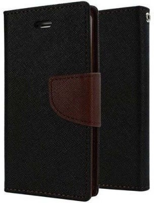 MobiChef Flip Cover for Motorola Moto G5 Plus Brown, Black