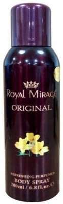 Royal Mirage Original Body Spray For Men & Women -200ml Body Spray  -  For Men & Women(200 ml) Flipkart