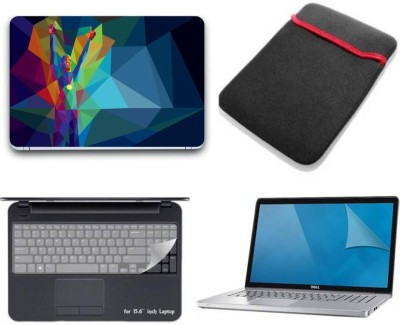 Gallery 83 ® line art winner wallpaper 4 in 1 combo pack with laptop skin sticker decal, laptop sleeve pouch, key guard, Screen protector all are laptop 15.6 inch Combo Set 3340 vinyl Laptop Decal 15.6 Combo Set(Multicolor)