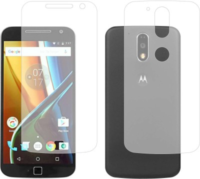 Case Creation Front and Back Screen Guard for Moto G5 2017 5th Generation(Pack of 2)