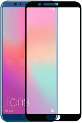 BlackBug Tempered Glass Guard for Realme C2 (Black) Screen Protector,Screen Guard,(Clear HD) 0.3mm, 2.5D(Pack of 1)