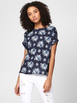 Harpa Casual Short Sleeve Floral Print Women