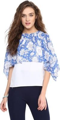 Mayra Casual Cold Shoulder Floral Print Women
