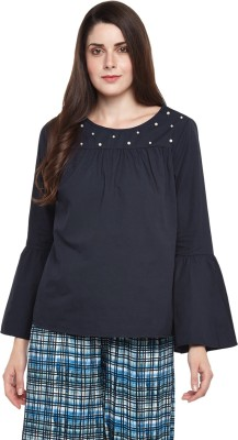 Annabelle by Pantaloons Formal Full Sleeve Solid Women